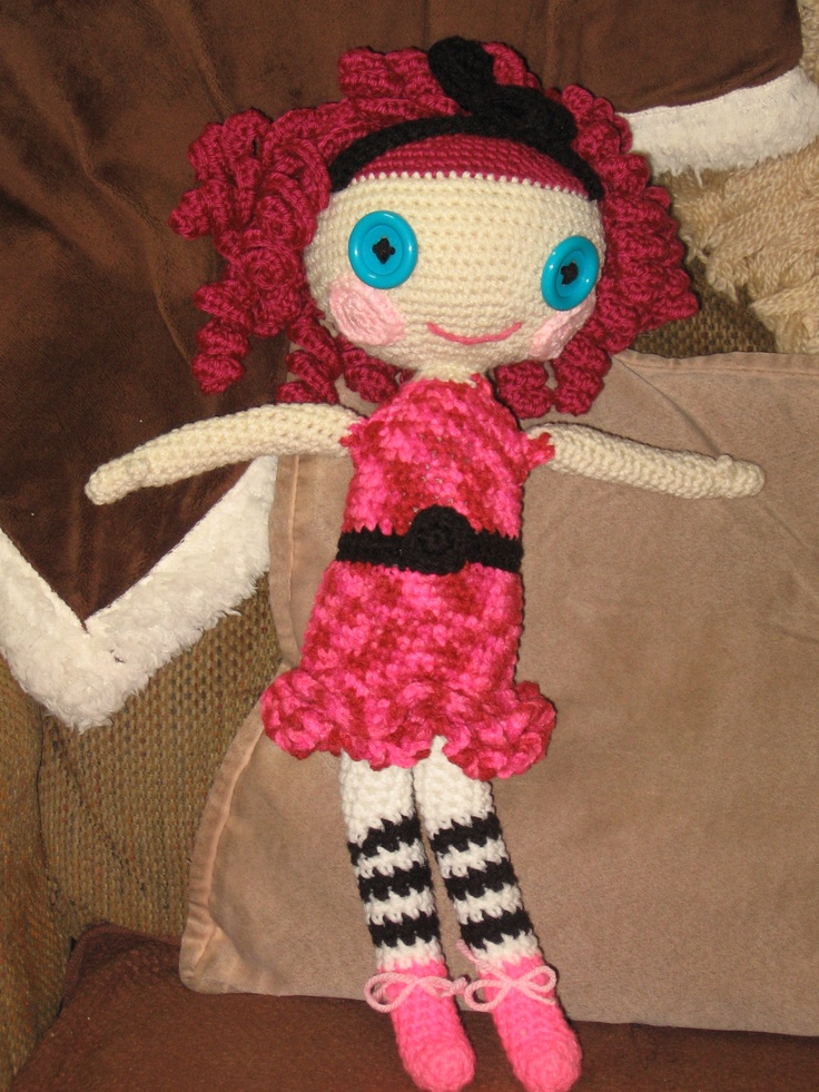 My first Lala type doll for my niece's daughter.  Another gift from Santa.