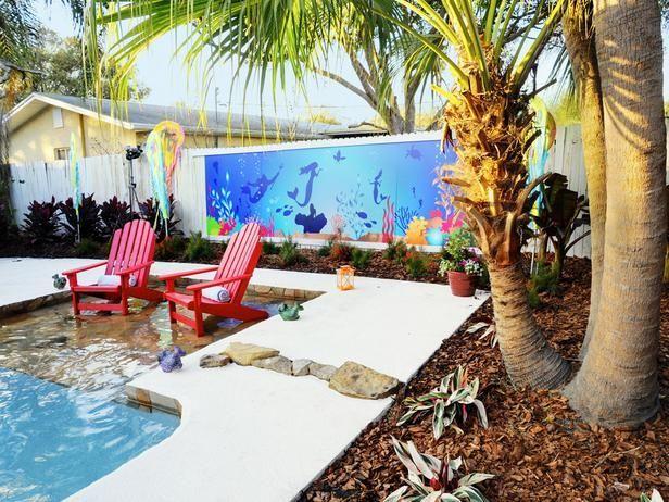 Disney Theme Backyards My Yard Goes Disney Backyard Has Under The Sea Theme Backyard