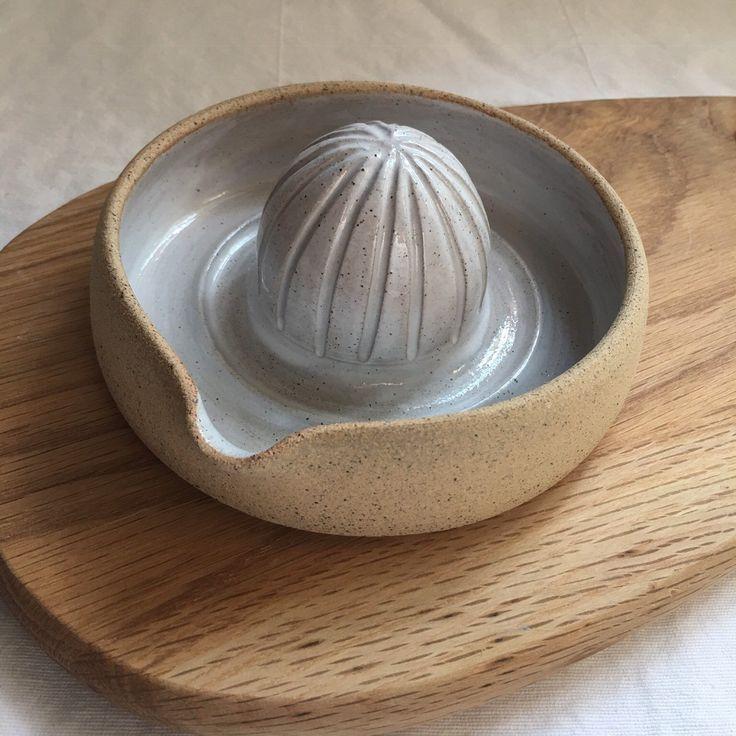 Rustic Orange juicer – handmade pottery – ceramic juicer – ceramic orange squeezer – stoneware – mothers day – Gifts -homewares