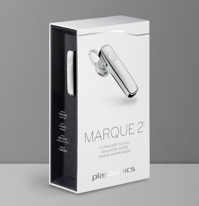 Character's packaging design for Plantronics MobileCommunications is featured in The Dieline