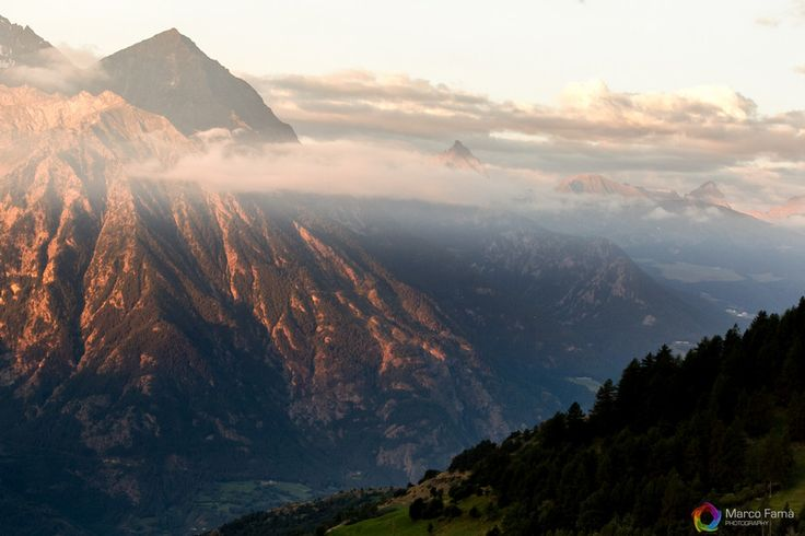 Italy, Sunrise over the Alps by Marco Famà on 500px