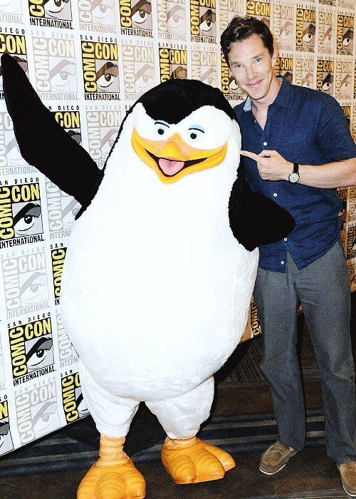 Benedict Cumberbatch at Comic Con