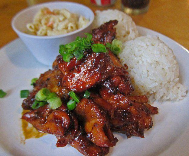 Le poulet Huli Huli (Hawaï)