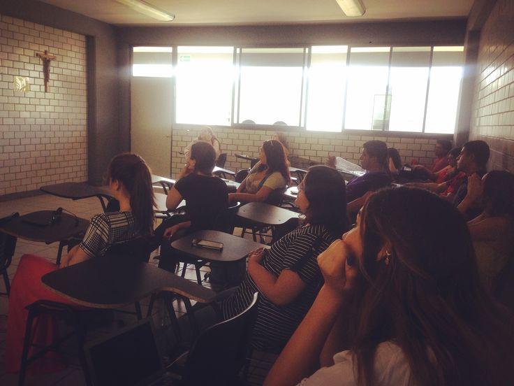Charla con los chicos de comunicación de Universidad La Salle Noroeste sobre marketing cultural digital.