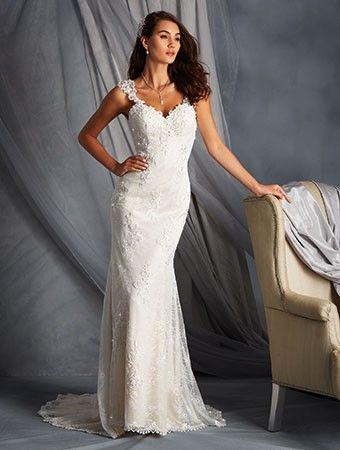 Kyrka V-ringad Sommar Bröllopsklänningar 2016