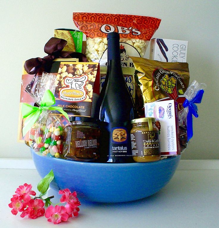GORGEOUS GIFT BASKETS------by pinkshark.ca
