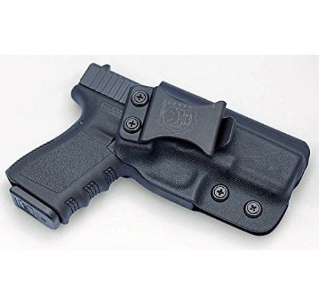 Gearcraft - Glock 19/23/32 IWB Concealed Carry Kydex Holster - Black - Holsters