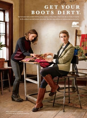 """SOREL(R) 2013 """"GET YOUR BOOTS DIRTY"""" CAMPAIGN (Photo: Business Wire)"""