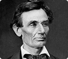 """He can compress the most words into the smallest ideas of any man I ever met.""  – Abraham Lincoln, quoted in Frederick Trevor Hill's Lincoln the Lawyer, 1906"