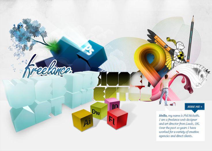 Freelance Web Designer / Art Director Kent, UK - Phil Mckeith
