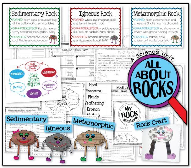 the teacher wife: Rocks ROCK!!! (Igneous, Metamorphic, & Sedimentary)