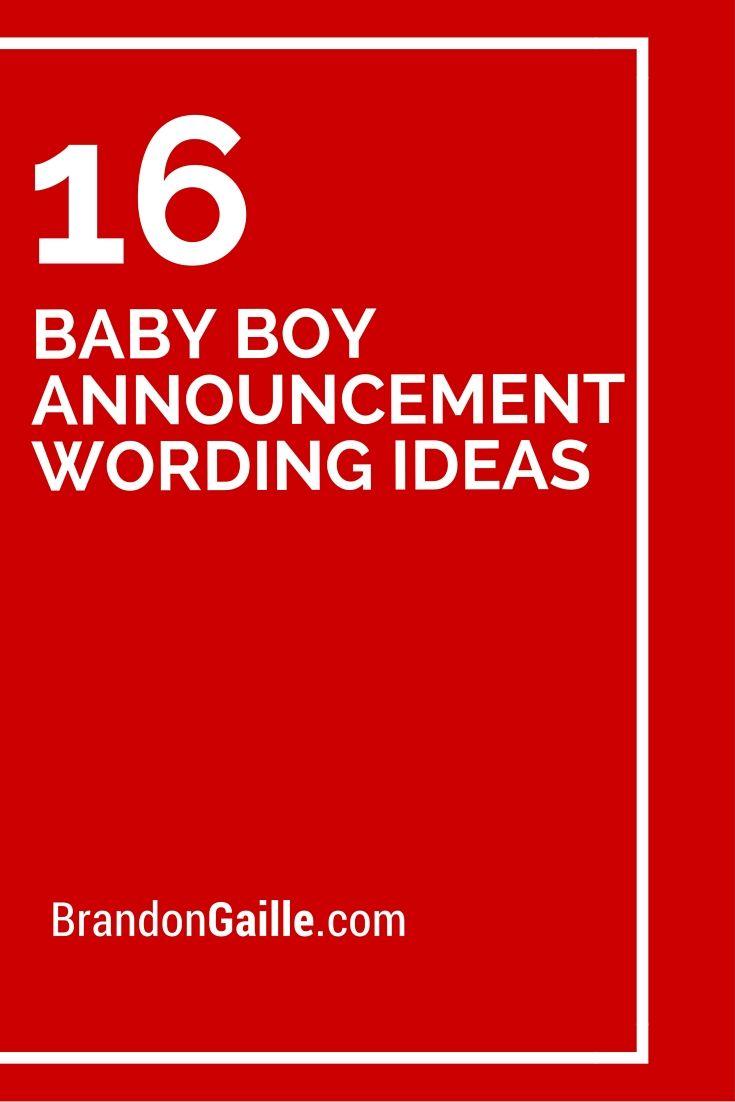 best 25  boy announcement ideas on pinterest