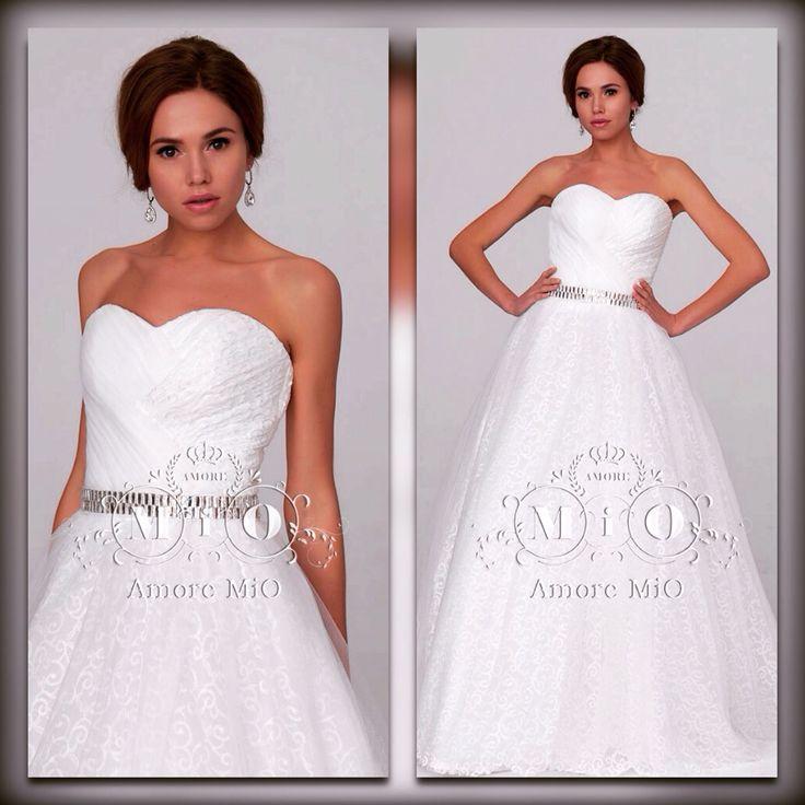 Нежное свадебное платье - классический силуэт, интересные детали, изысканные дизайнерские решения и ваш образ на высоте!!!!