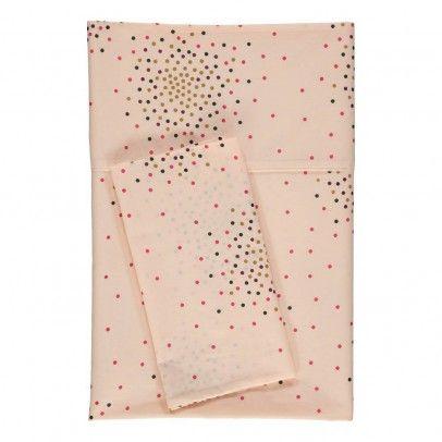 April Showers Vanilla bed linen set - dots print 110x150,140x200 Details : cotton poplin, Dots print, 1 Duvet cover, 1 Pillow Case, Handprinted * Composition : 100% Cotton * Color : Vanilla, Multicoloured * Size S : Pillow case : 35 x 55 cm, Duvet cover : 110 x 150 http://www.MightGet.com/january-2017-13/april-showers-vanilla-bed-linen-set--dots-print-110x150-140x200.asp
