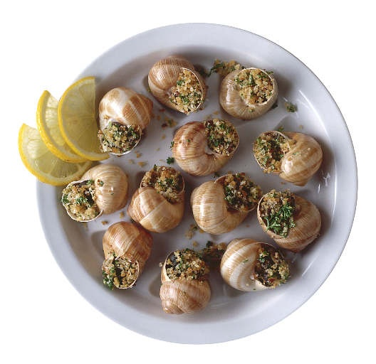 What Is Famous French Foods | Famous French Food Snails