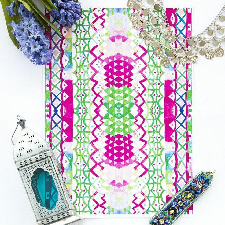 BRITT LASPINA PRINT | FLATLAY | www.brittlaspinadesigns.com