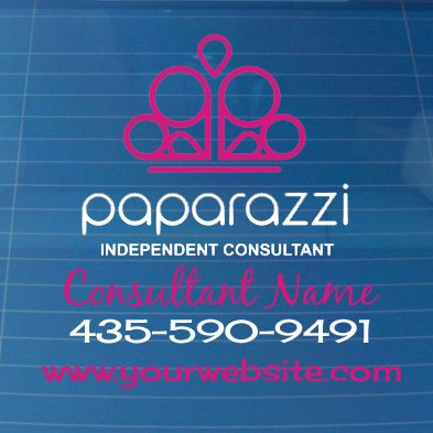 Vinyl- Paparazzi car decal @VinylExpressions http://www.paparazziaccessories.com/26795