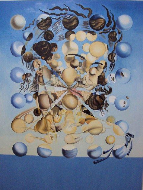 Kunstanalyse: Galatea Of The Spheres, Salvador Dalí