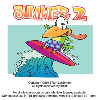 If My Summer Clipart Volume Was All About Kids And Then This One Is