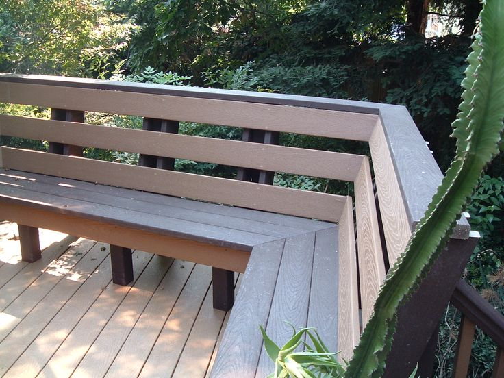 17 Best Ideas About Deck Bench Seating On Pinterest Deck