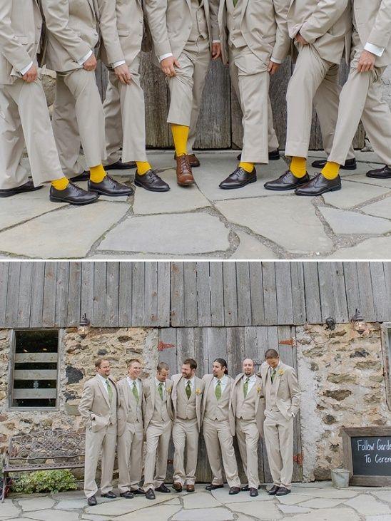 matching groomsmen socks