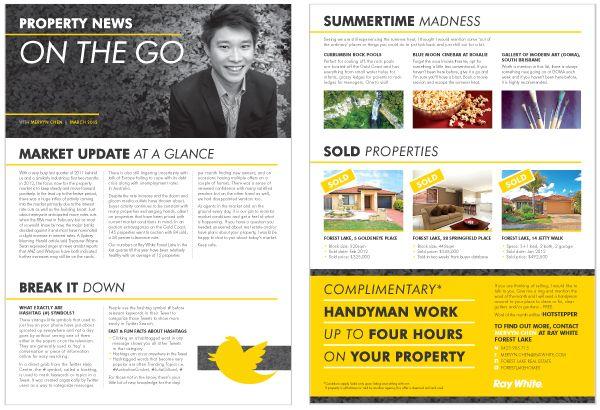 Mervyn Chen - Ray White Real Estate - Hannah Fiala Design Portfolio