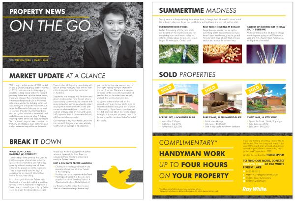 Mervyn Chen - Ray White Real Estate - Hannah Fiala Design Portfolio