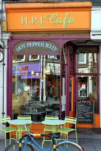 Cute and yummy #HotPepperJellyCafe in #CrouchEnd #N8
