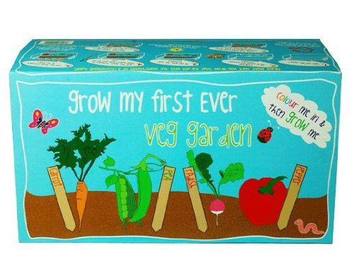 Canova 'My First Ever Vegetable Garden' Childrens Grow Kit