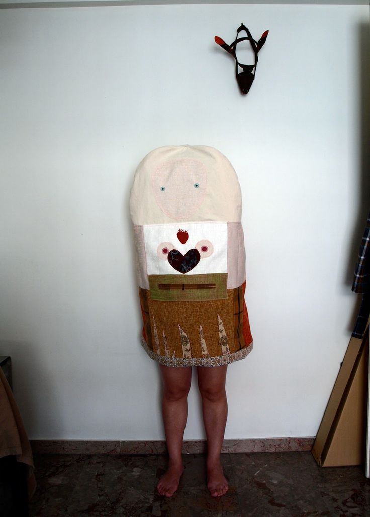 #mask, #costume, #outfit, #textiles, #clothes, #fashion, #heart, #anatomy, #fabric