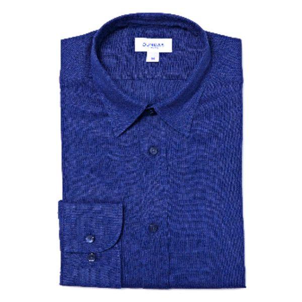 Men's Navy Linen Shirt ($135) ❤ liked on Polyvore featuring men's fashion, men's clothing, men's shirts, men's dress shirts, old navy mens shirts, mens dress shirts, mens navy blue dress shirt, mens linen dress shirts and mens navy blue shirt