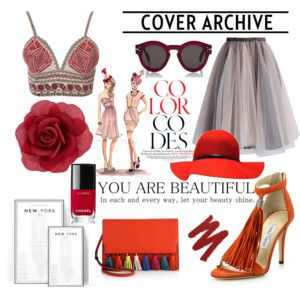 red & orange/trendy