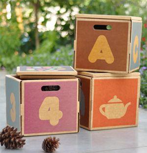 Cardboard Box Storage