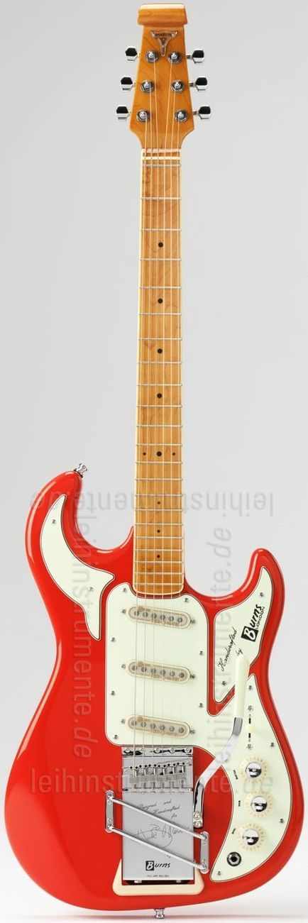 1964 Burns Hank Marvin Signature Guitar ~ https://www.pinterest.com/lardyfatboy/ ~ because its nice not because I'm a Hank fan