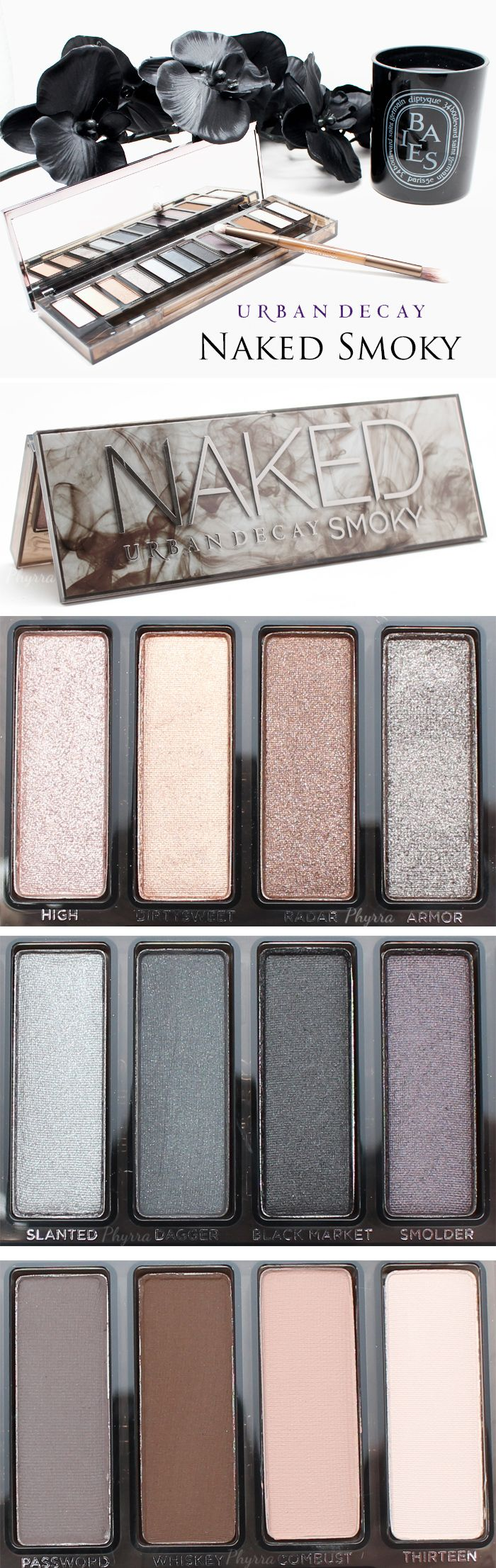 Urban Decay Naked Smoky Palette - First look video, swatches and thoughts! I need this!!