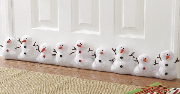 atrapa vientos | Christmas | Pinterest | Snowman, Draft Stopper and Plush