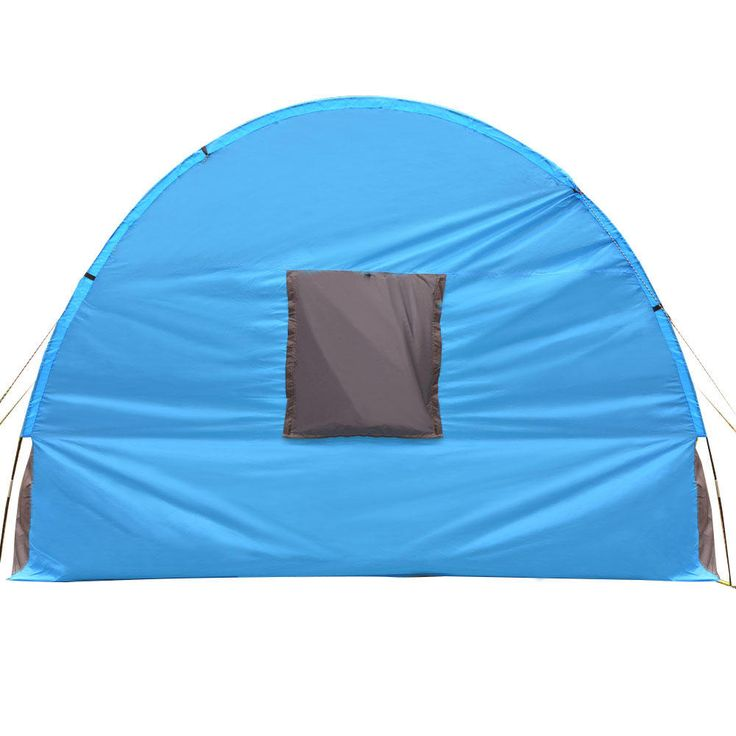 Xmund XD-ET4 8-10 People Camping Tent Waterproof Tunnel Double Layer Large Family Canopy Sunshade Sale - Banggood.com