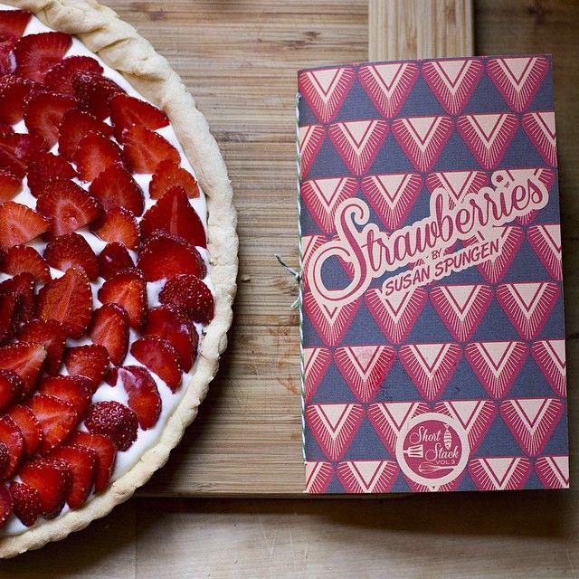 Short Stack Editions Vol. 3 Strawberries, by Susan Spungen