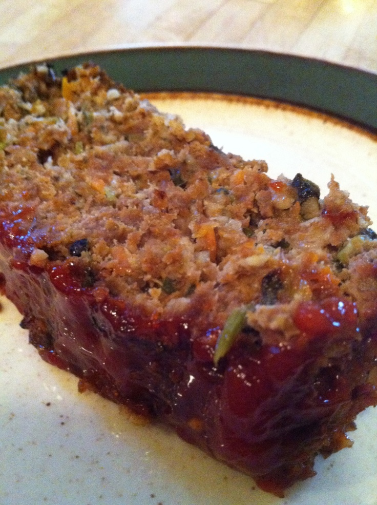 recipe: venison meatloaf with oatmeal [19]