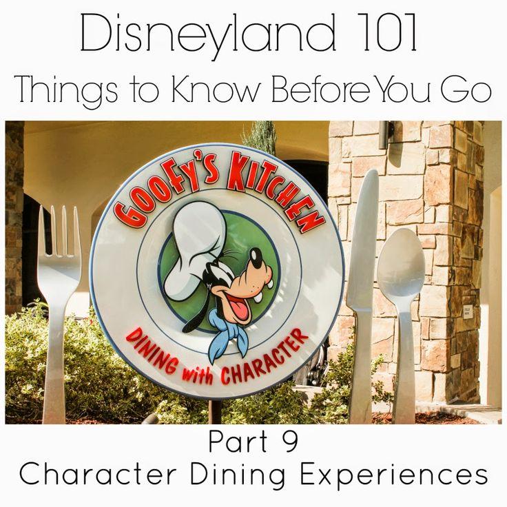 Disneyland 101 Part 9 Character Dining Kitchens And Disneyland