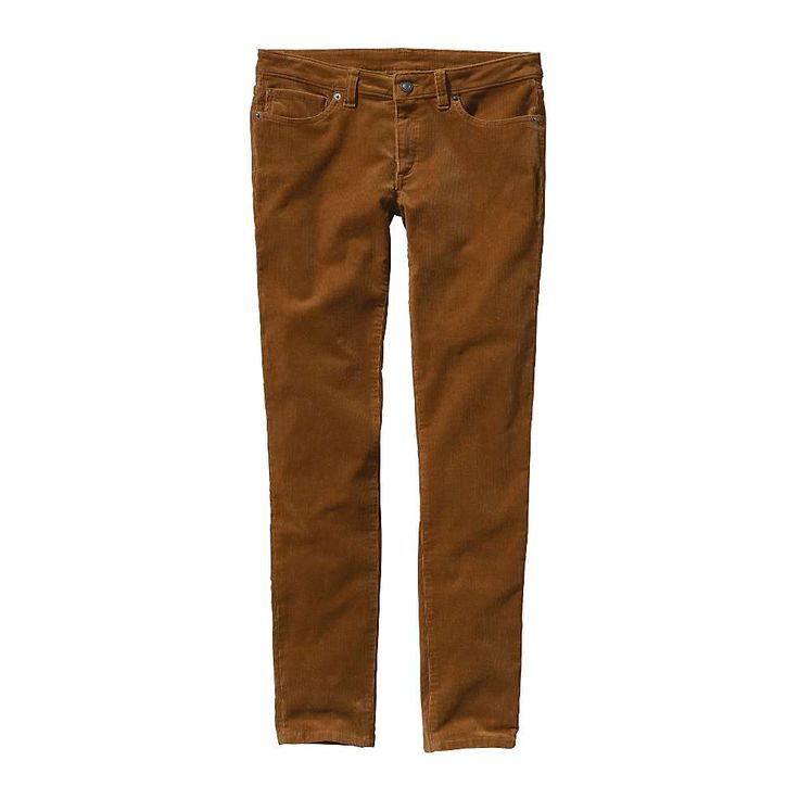Patagonia Women's Fitted Corduroy Pants - at Moosejaw.com