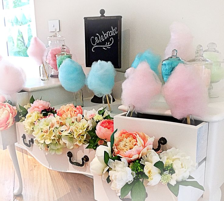Our Fairy floss stand from Events By Alysia