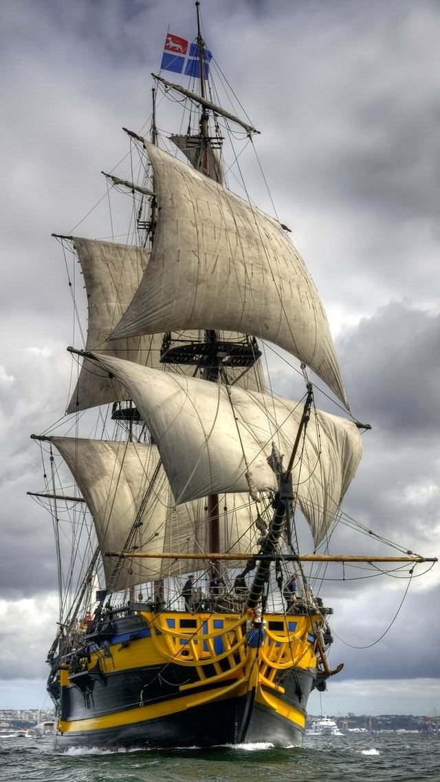 All I ask is a tall ship and a star to steer her by. You can feel the wind at your back take away the wind and sea, she's still yours, you can feel her...