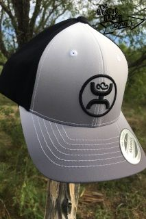 The Ohl Fade HOOey hat is made in black and white with a gray gradient bill and adjustable back.    It features the Cody Ohl logo stitched on the front in black and Be Original embroidered above the back snap. ​  HOOey scoreline logo embroidered on the side in white.