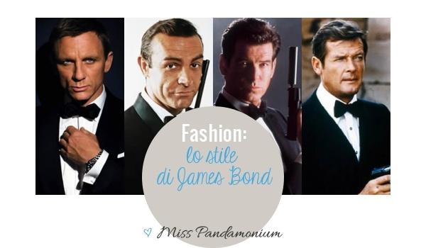 Fashion: lo stile di James Bond