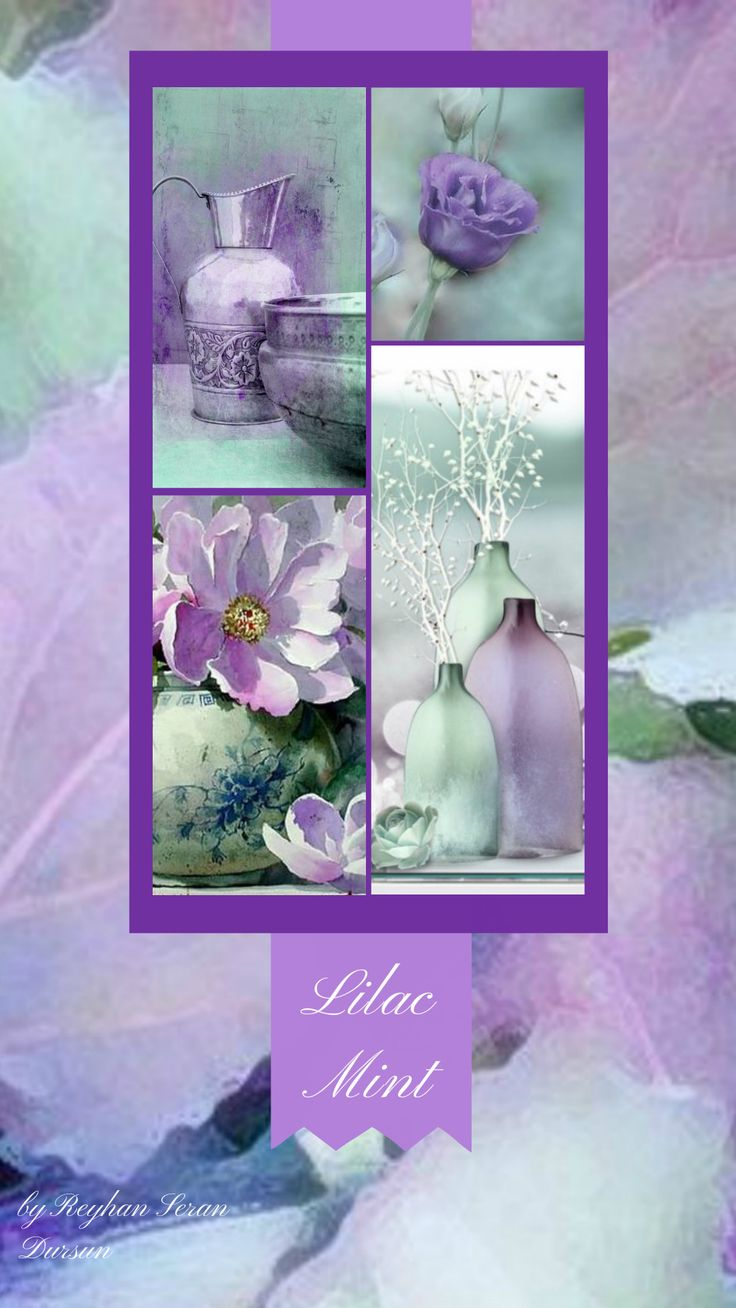 '' Lilac & Mint '' by Reyhan Seran Dursun