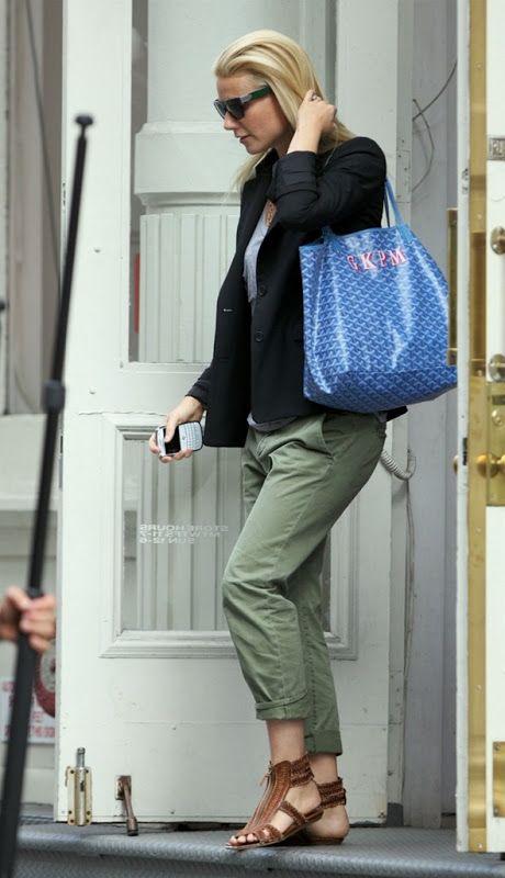 Monogrammed Goyard St. Louis Tote - my dream handbag