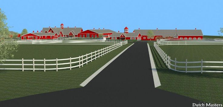 Vet Clinic and Rehab Centre New Buildings incorporated into existing Horse Farm site  - Dutch Masters Construction Services specializes in the customized design and construction of horse facilities, barns and stables in Ontario.