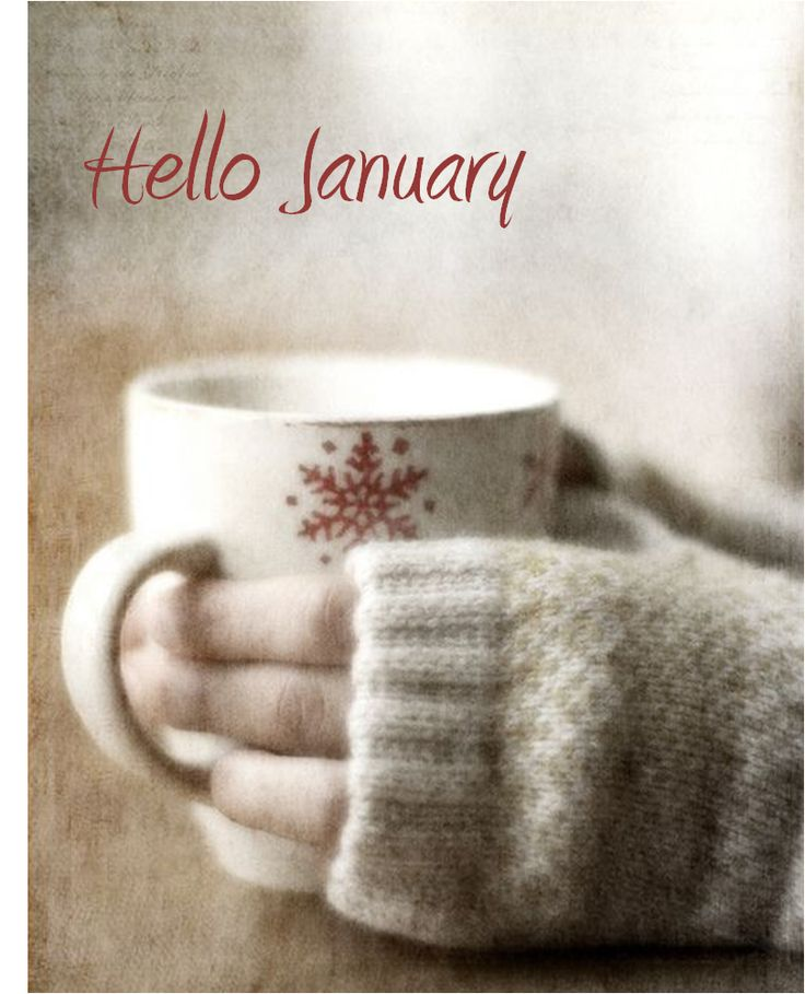 Hello January - Happy New Year
