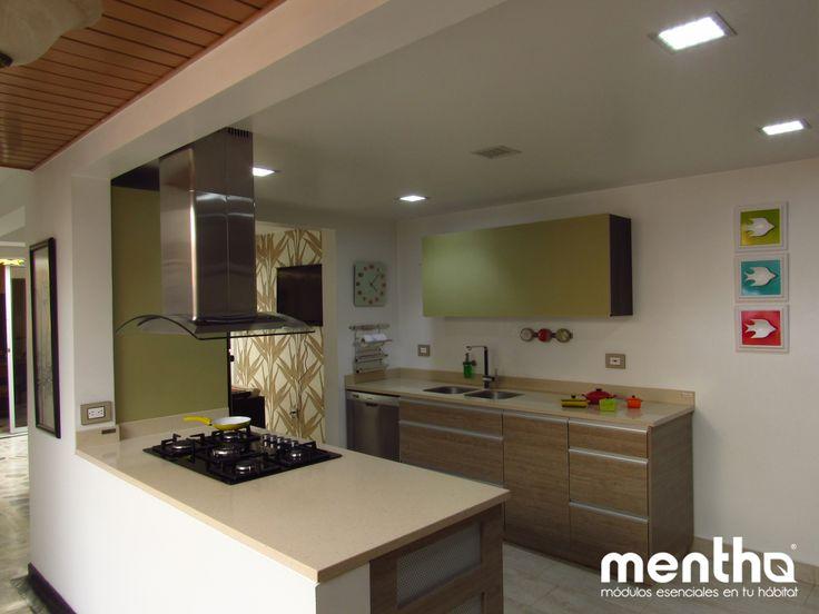 Cocinas manizales, cocinas mentha. kitchen #kitchendesign #interiordesign #modern #homedesign #colombia #manizales #architecture #cocinas #cocinasmanizales cocinas mentha